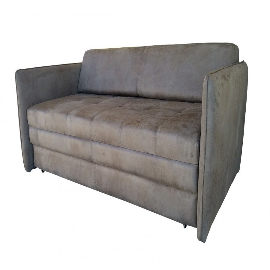 Τριθέσιος καναπές κρεβάτι W3 Καφέ - VM-W3-TR-III