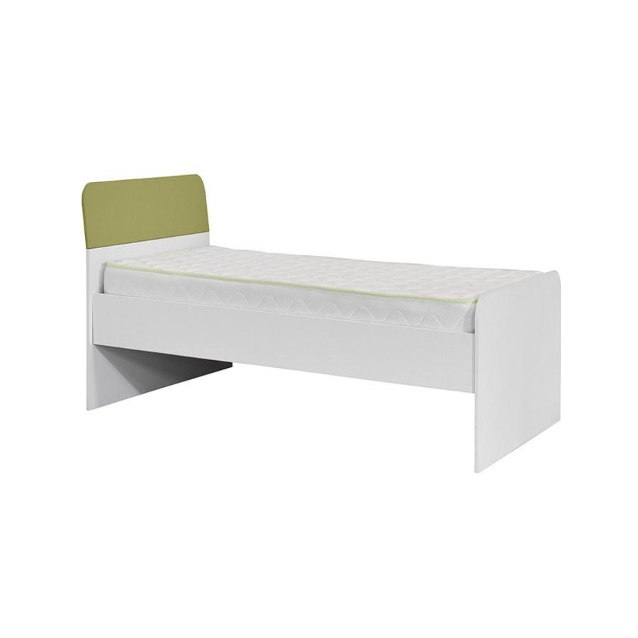 Κρεβάτι KR 90 Kinder Λευκό Πράσινο - 642718