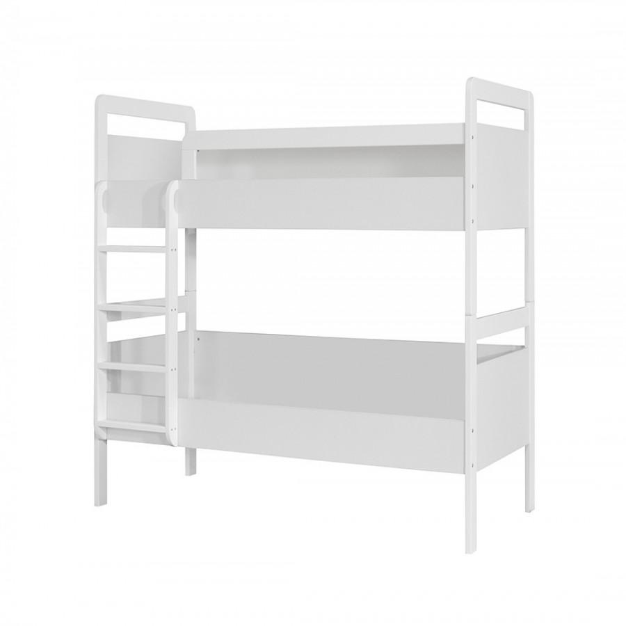 Διόροφο κρεβάτι κουκέτα Kinder Λευκό - 642962